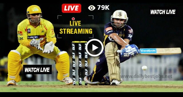 KKR vs CSK Live Streaming Cricket Score Online IPL Match