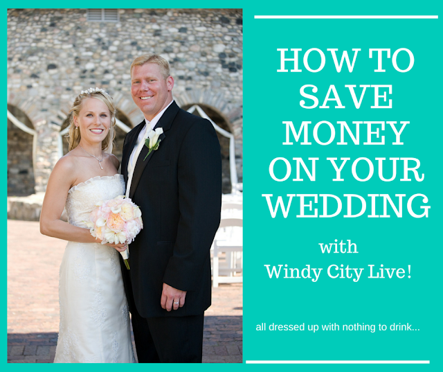 How to Save Money on Your Wedding with Windy City Live! | all dressed up with nothing to drink...