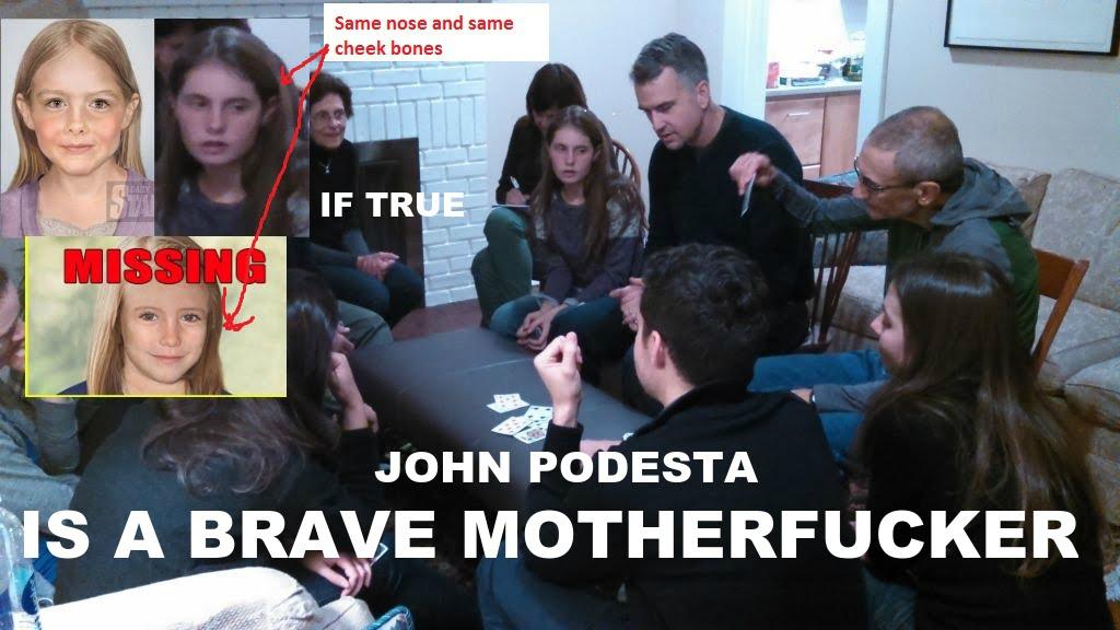 john podesta pizzagate meme madeleine mccann