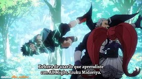 Boku no Hero Academia 4th Season Capitulo 22 Sub Español HD