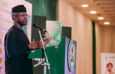 Acting President Osinbajo warns tax evaders,Pay your tax within nine months or be sent to jail