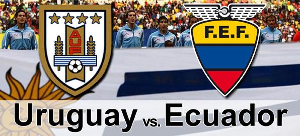hora partido ecuador vs uruguay