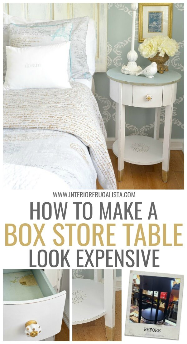 How To Make A Box Store Table Look Expensive