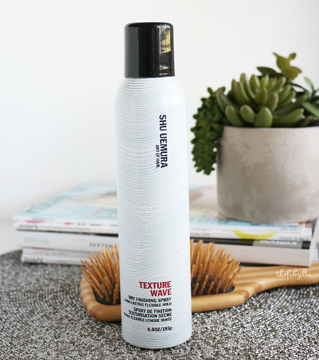 Shu Uemura Art of Hair, Shu Uemura Texture Wave Dry Finishing Spray, Review