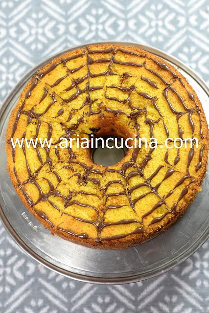 Blog di cucina di Aria: Chiffon Cake alla Zucca di Halloween