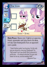 MLP The Vote Marks in Time CCG Card