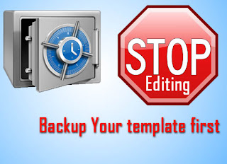 How to Backup/restore Blogger template