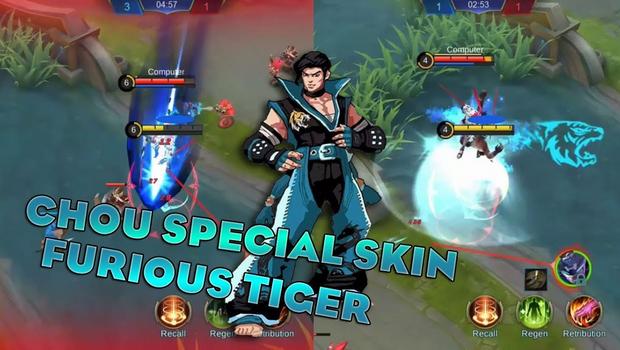 Script Skin Chou SPECIAL Furious Tiger ML Gratis