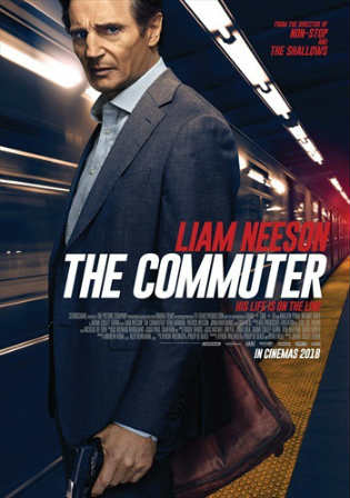 The Commuter 2018 HDRip 850MB English 720p Watch Online Full Movie Download bolly4u