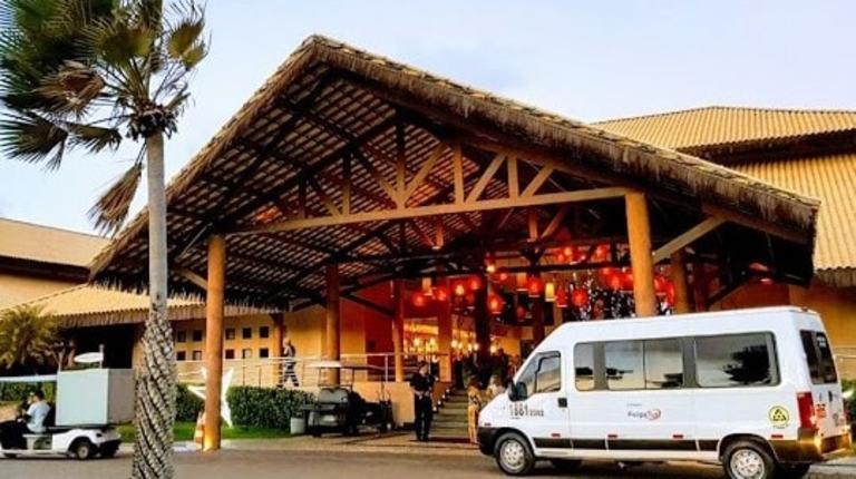 Transporte do aeroporto de Fortaleza para o Vila Galé Cumbuco