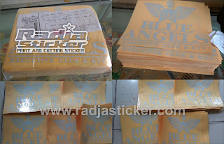Jasa cutting stiker
