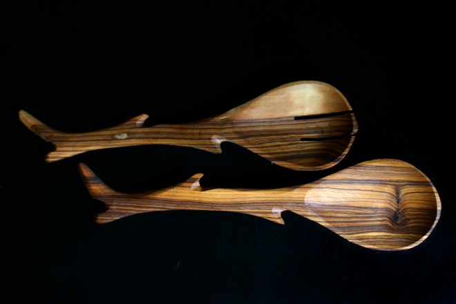 olive branch spoon set