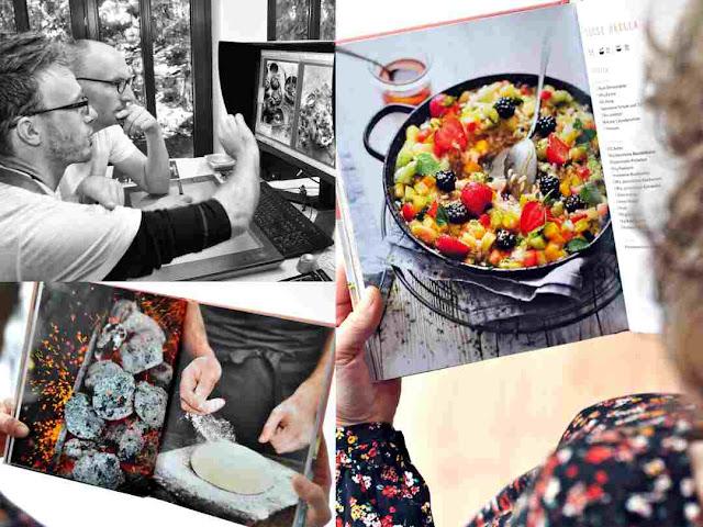 Süße Paella aus dem Grillbuch von Manuel Weyer