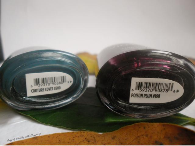 CND VINYLUX Contradictions Poison Plum + Couture Covet
