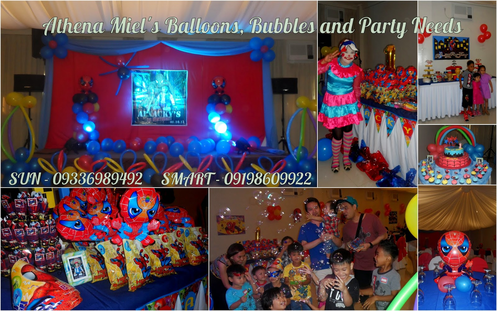 Spiderman birthday party theme davao city