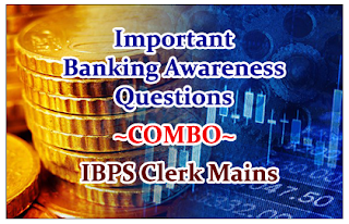 """Important Banking Awareness Questions """"Combo"""