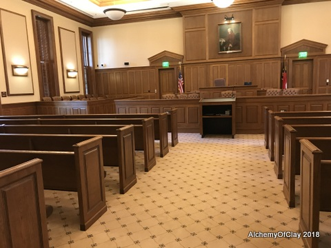 Living in Black Mountain, NC: The courthouse of Chatham