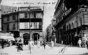 بطاقات بريدية لشارع باب عزون الجزائري 1931