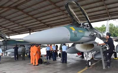 TNI AU Terima Dua F-16