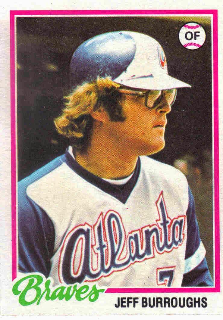 1978 Baseball 1978 Topps Baseball 130 Jeff Burroughs
