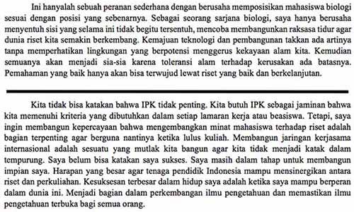 Contoh Essay Lpdp Kontribusiku Bagi Indonesia