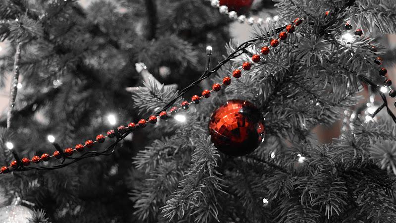 3rd Christmas Balls in Tree HD