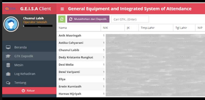 gambar aplikasi geisa client dapodik