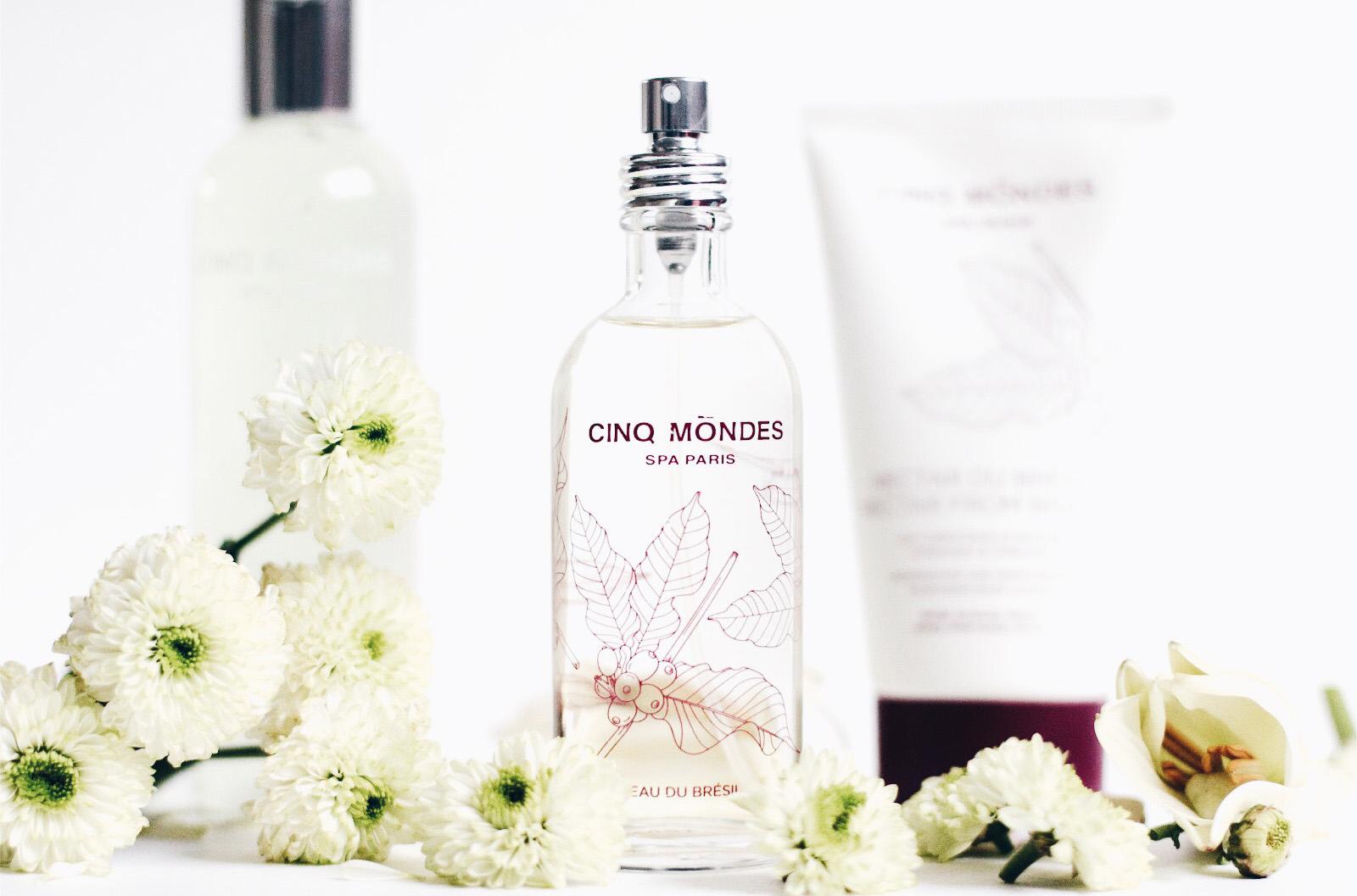 cinq mondes eau du brésil parfum gel lait sous la douche avis test