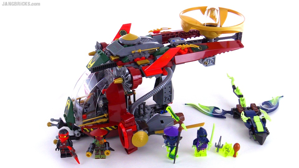 lego ninjago ronin r e x build review set 70735