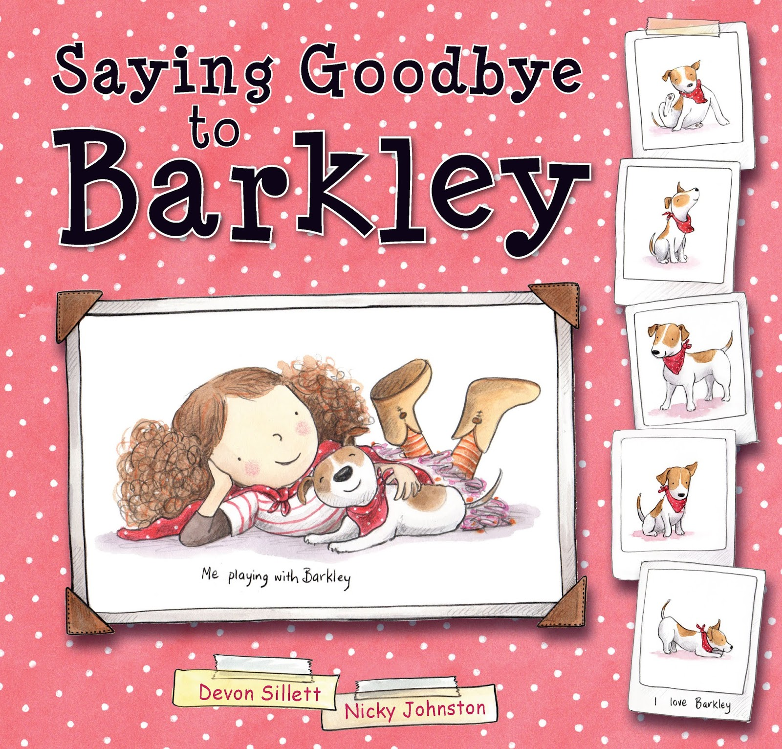 Kids Book Review Review Saying Goodbye To Barkley
