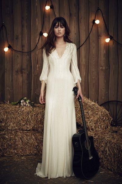 Increíbles vestidos de novias | Colección manga larga