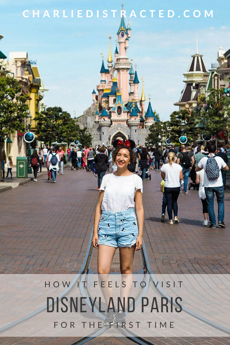 What it feels like to visit Disneyland for the first time
