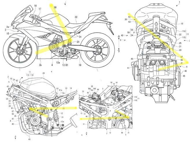 Suzuki GSXR250/300
