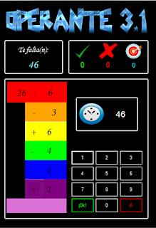 Gamificación, Educación, Software, Operante, Curso, Primaria, Matemáticas