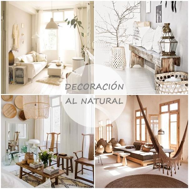 Decoracion al natural cocochicdeco - Decoracion natural interiores ...