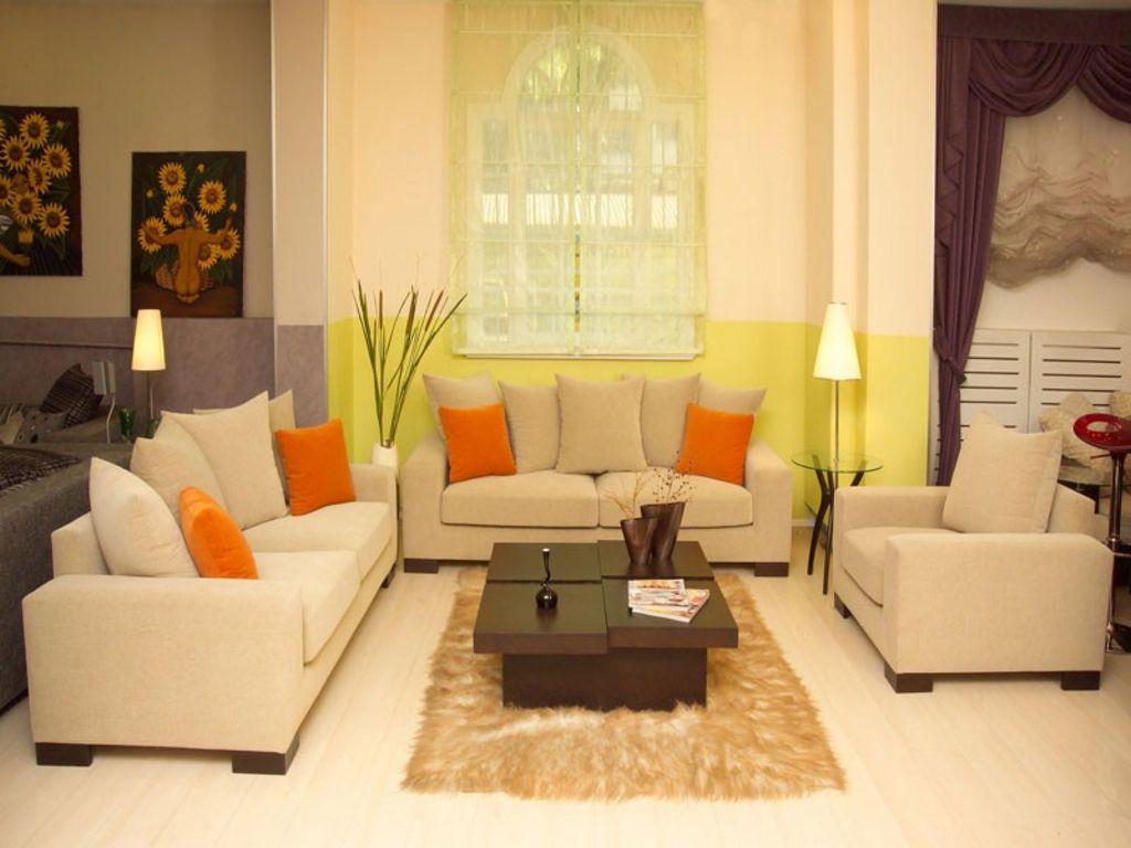 inspirasi warna cat ruang tamu minimalis terbaru