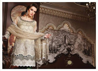 Maria.B Embroidered unstiched wedding Edition Collection 2017