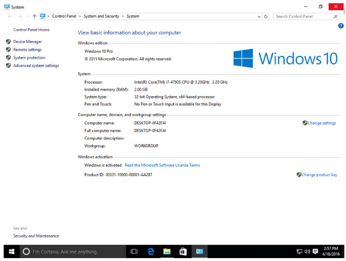 windows 10 32 bit iso download pre activated