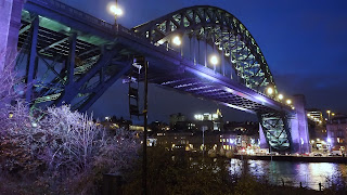 Tyne bridges at night, Newcastle at night,Photos Bridges NewcastleNorthumbrian Images Blogspot,North East, England,Photos,Photographs