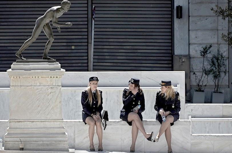 Russian Women Police Find Few 83