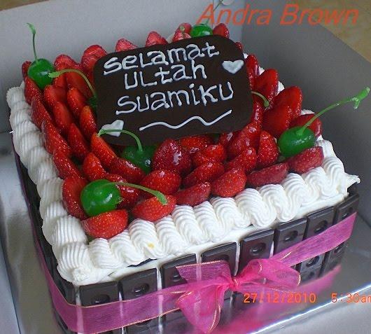 Wwwkueandrabrowncom Black Forest Fruity Ultah Suami