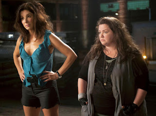 Sandra Bullock Melissa McCarthy The Heat cop comedy 2013