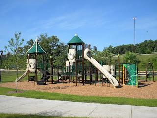 Playground at Community Field, Holyoke