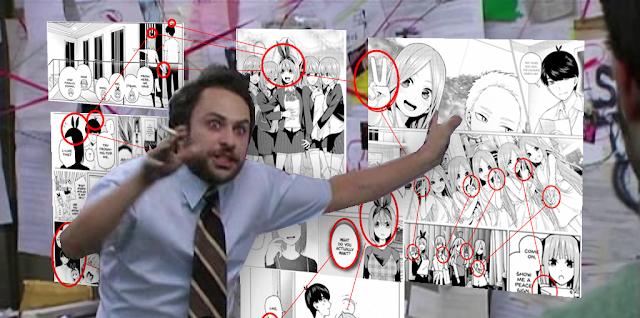Fã escreve Teoria de 41 páginas mostrando porque a Yotsuba é a Noiva em Gotoubun no Hanayome