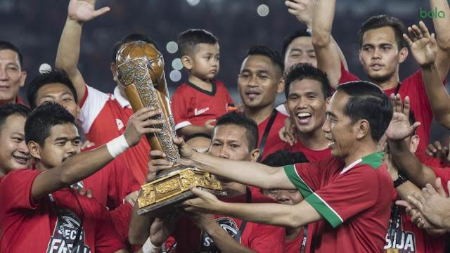 Persija Jakarta Juara Piala Presiden 2018, Terima Hadiah Rp3,3 M