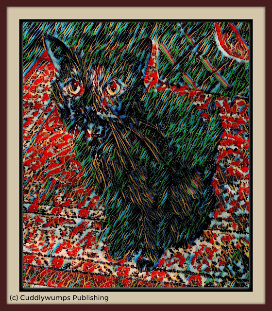 Real Cat Paisley with Submarine effect
