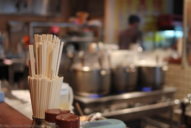 Japanese chopsticks photo - Harajuku Gyozaro