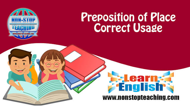 Preposition of Place Correct Usage