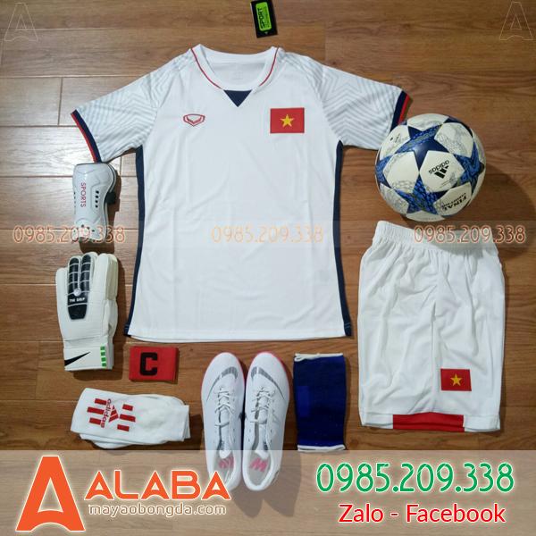 Áo Đội Tuyển Việt Nam 2018 Màu Trắng