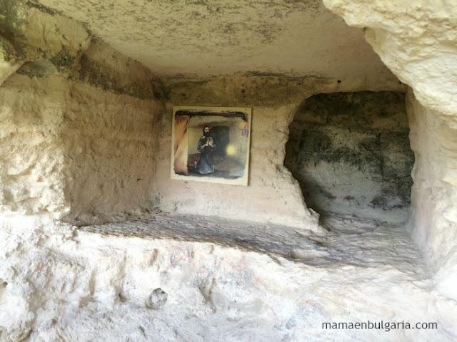 Celda del monasterio de Aladzha